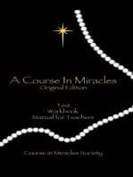 A Course In Miracles: (Original Edition)