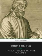 The Anti-Nicene Fathers Volume 3