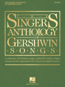 The Singer's Anthology of Gershwin Songs - Tenor