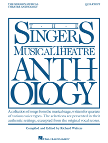 Singer's Musical Theatre Anthology - Quartets: Book Only