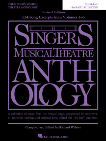 """The Singer's Musical Theatre Anthology - """"16-Bar"""" Audition: Soprano Edition"""