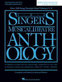 The Singer's Musical Theatre Anthology - 16-Bar Audition - Revised Edition: Mezzo-Soprano/Belter Edition