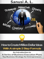 How to Create Million Dollar Ideas With a Simple 2 Step Formula