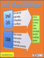 Small Cell and CRAN Deployment Report