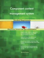 Component content management system Standard Requirements