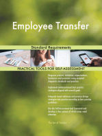 Employee Transfer Standard Requirements