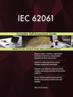 IEC 62061 Complete Self-Assessment Guide