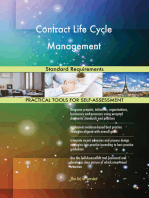 Contract Life Cycle Management Standard Requirements