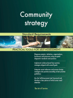 Community strategy Standard Requirements