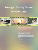 Managed Security Service Provider MSSP Complete Self-Assessment Guide