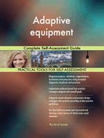 Adaptive equipment Complete Self-Assessment Guide