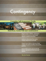 Contingency Complete Self-Assessment Guide