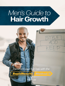 Men's Guide To Hair Growth: Transform your hair loss using the RapidResults Method