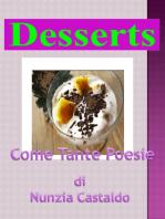 La lista Dei Dessert Come Tante Poesie