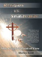 Religion Vs Spirituality – One Psychics Point of View
