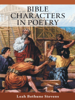 Bible Characters in Poetry