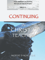 Continuing in Christ'S Teaching