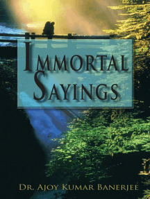 Immortal Sayings