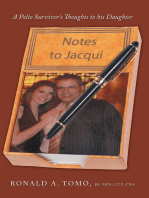 Notes to Jacqui: A Polio Survivor's Thoughts to His Daughter