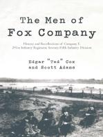 The Men of Fox Company