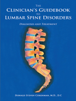 The Clinician's Guidebook to Lumbar Spine Disorders: Diagnosis & Treatment