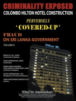 Criminality Exposed Colombo Hilton Hotel Construction Perversely `Covered-Up'