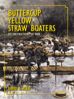 Buttercup Yellow Straw Boaters