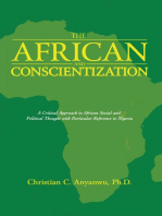 The African and Conscientization