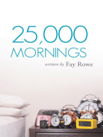 25,000 Mornings