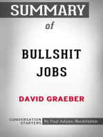 Summary of Bullshit Jobs