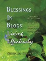Blessings in Blogs