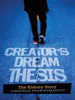 Creator'S Dream Thesis