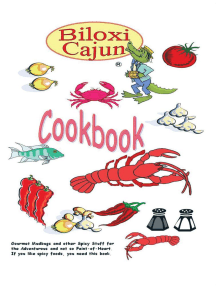 The Biloxi Cajun Cookbook