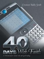 40 Days with Faith