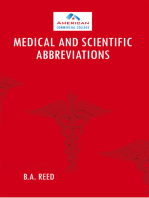 Medical and Scientific Abbreviations