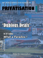 Imf, World Bank & Adb Agenda on Privatisation Volume Ii