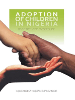 Adoption of Children in Nigeria