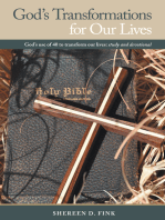 God's Transformations for Our Lives