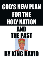 God's New Plan for the Holy Nation and the Past