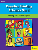 Cognitive Thinking Activities Set 5