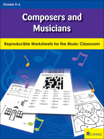 Composers and Musicians: Reproducible Worksheets for the Music Classroom