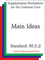 Main Ideas (CCSS RI.5.2)