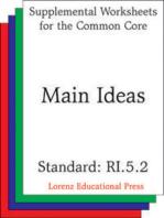 Main Ideas (CCSS RI.5.2)