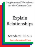 Explain Relationships (CCSS RI.5.3)