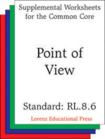 Point of View (CCSS RL.8.6)