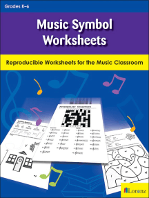 Music Symbol Worksheets: Notes, Dynamics, and More