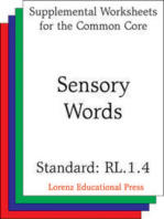 Sensory Words (CCSS RL.1.4)