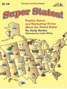 Super States!: Puzzles, Games and Fascinating Trivia About the United States