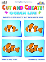 Cut and Create! Ocean Life
