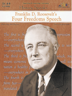 Franklin D. Roosevelt's Four Freedoms Speech
